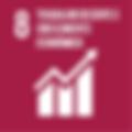 ODS 8 Promover o crescimento econômico sustentado, inclusivo e sustentável, emprego pleno e produtivo e trabalho decente para todos