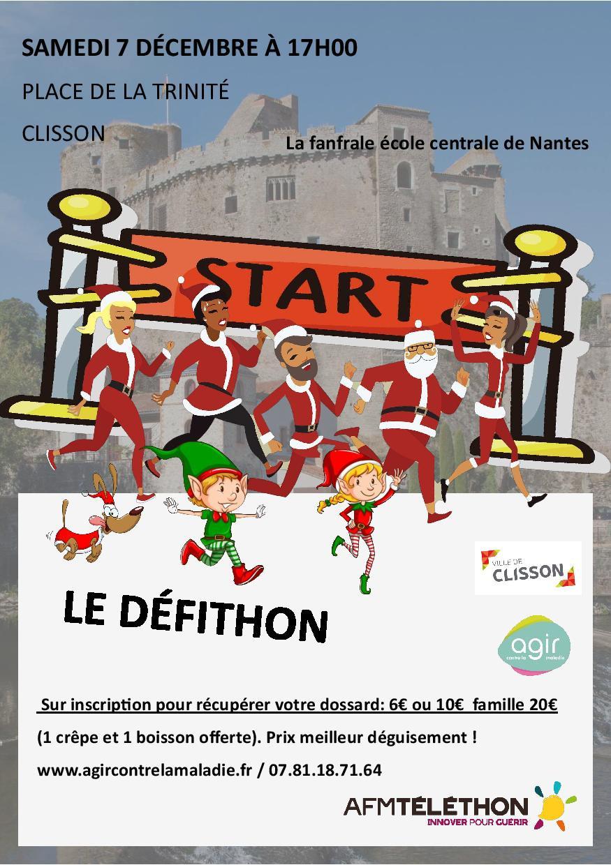 Le Défithon des Pères Noël - Téléthon 2019