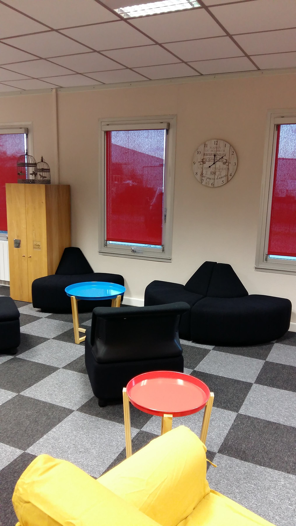 Espace détente et ateliers