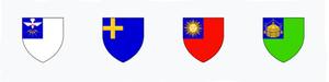 Cada equipe de Calcio Storico representa um bairro histórico da cidade e é representado por uma cor diferente.