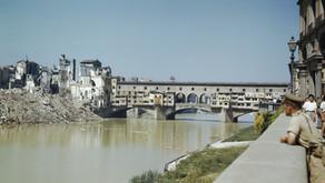Explodiram as pontes de Florença!