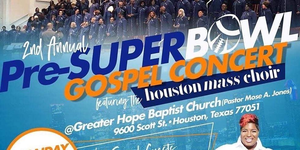 2nd Annual Pre-Super Bowl Gospel Concert