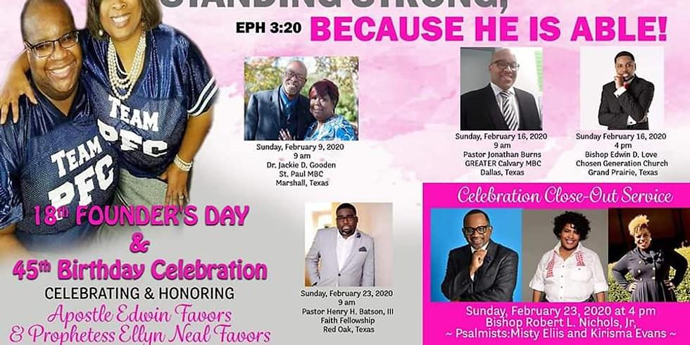 Founders Day & Birthday Celebration