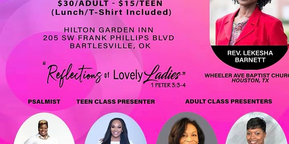 Greater First Baptist Church Women's Conference 2019