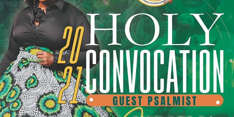 2021 HOLY CONVOCATION