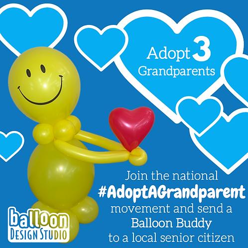 Adopt a Grandparent x3