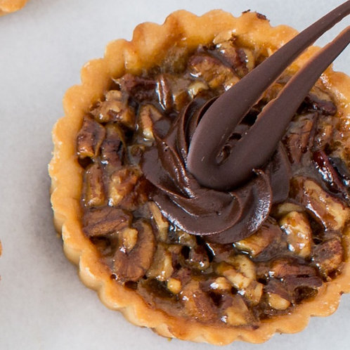 "4"" Honey Pecan Tart  (box of four)"