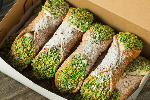 Fresh Cannoli, large or mini