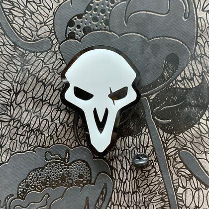 Overwatch Reaper Pin