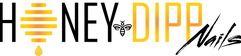 Honey Dipp Nails Logo Design.png