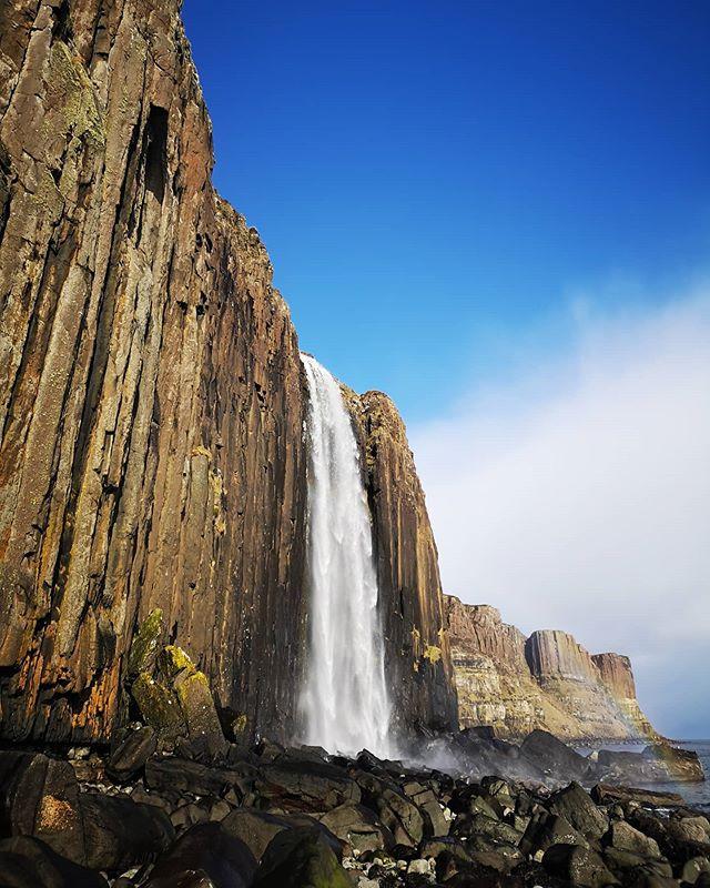Mealt falls and Kilt Rock