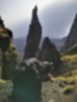 Neddle at the Quiraing