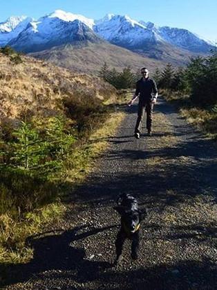Forresty walk, Glean Brittle
