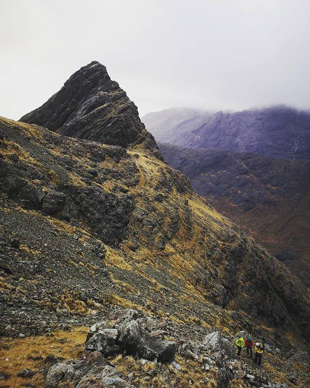 Black Cuillin ridge