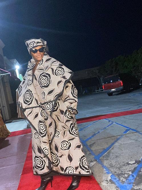 Loose Full Long Tapestry Coat