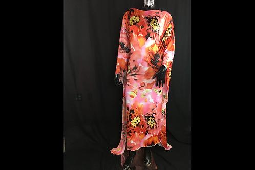 Long Mahogany Dress