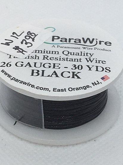Parawire 26 Gauge Black