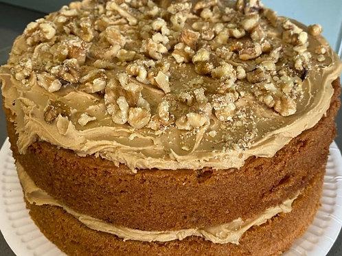Coffee & Walnut Sandwich Cake