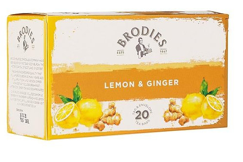 Brodies Lemon and Ginger