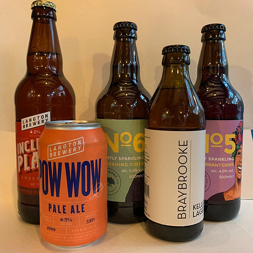 Beers and Cider from