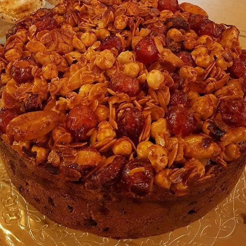 23cm Round Christmas Cake