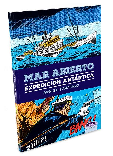 Mar abierto, expedición antártica