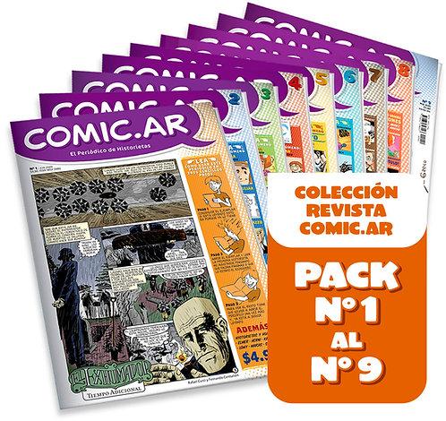 Comic.ar Revista | Pack 1 al 9