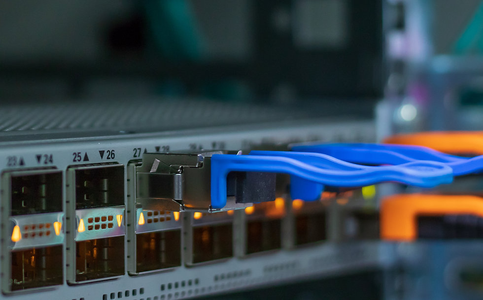 Network switch. Modern network switch sp