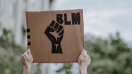 Thoughts from a White Dude Holding a Black Lives Matter Sign