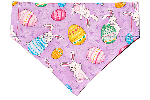 Theo - Easter Bunnies on Purple