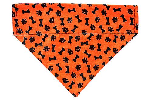 Simba - Paws & Bones on Orange