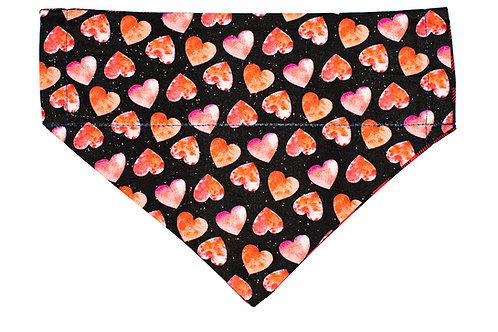 Copper - Watercolour Hearts
