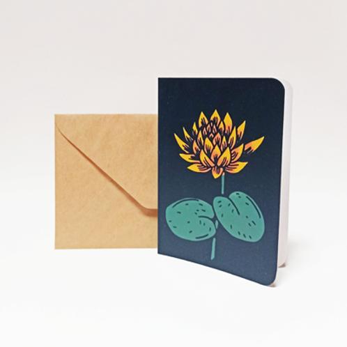 Lotus . Carte 10X15cm