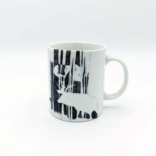 Mug Céramique  Cerf . 25 cl