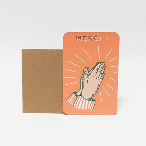 Merci .  Mini carte