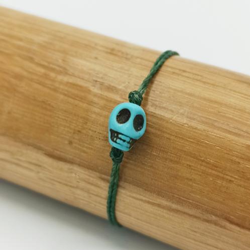 Bracelet . tête de mort