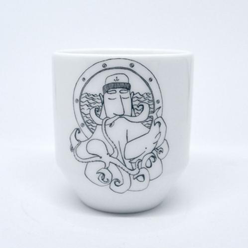 Tasse Expresso . Porcelaine de Limoges