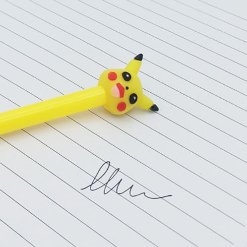 stylo encre Noir . Pikachu