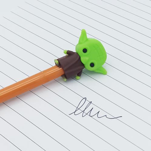 stylo encre Noir .Yoda