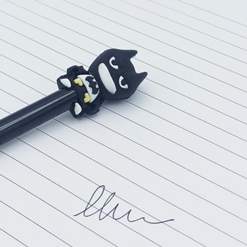 stylo encre Noir . Batman