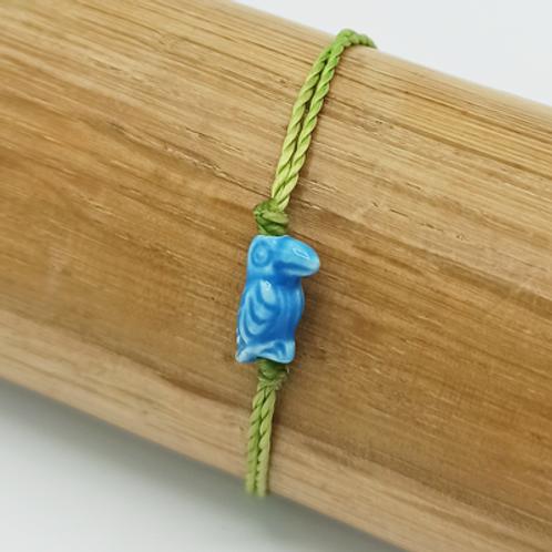 Bracelet . Toucan céramique