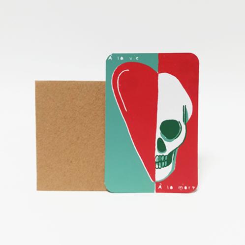 A la vie à la mort  .  Mini carte