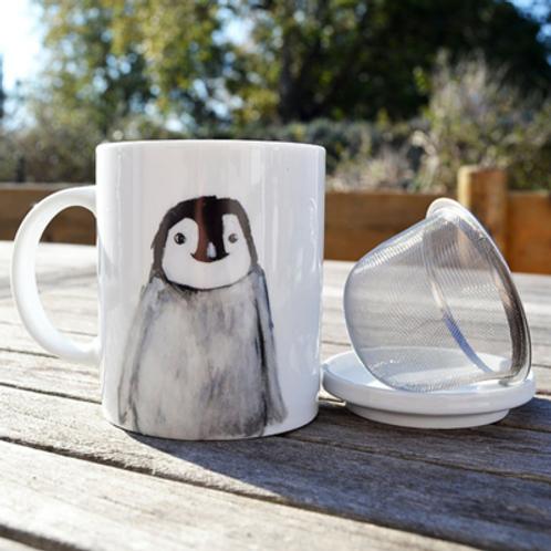 Tisanière pingouin