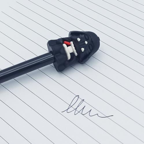 stylo encre Noir . Dark vador