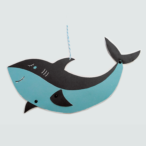 Requin . Pantin Papier