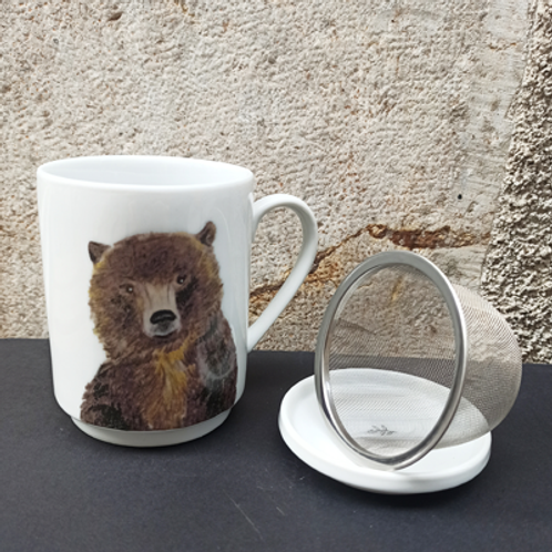 Tisanière ours