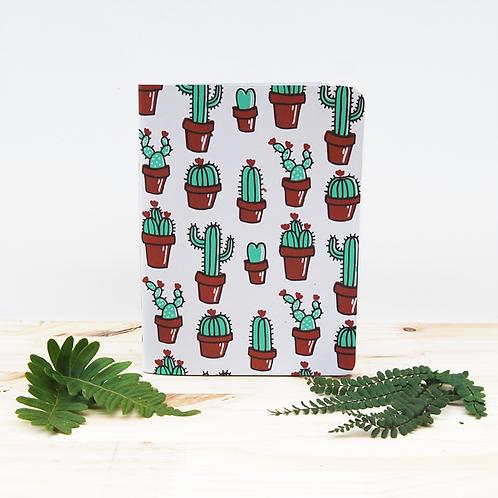 cactus . 18 X 13,5 cm