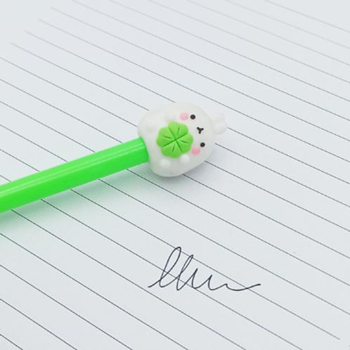 stylo encre Noir . Lapinou