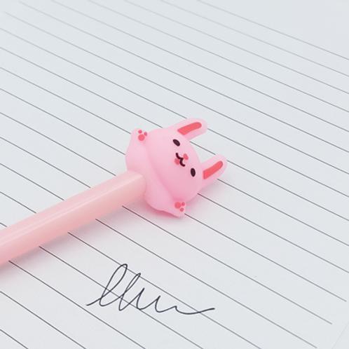 stylo encre Noir . Lapin