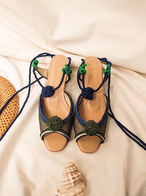 Tereza Bloco/ Verde + Azul/ Sella/ no marinho
